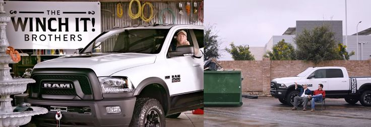 The Winch It Brothers show off the capabilities of the new 12,000-pound winch on the new 2017 Ram Power Wagon. Check this out!  #Winchit #Ram #RamTrucks #GutsGloryRam #Trucks #Youtube