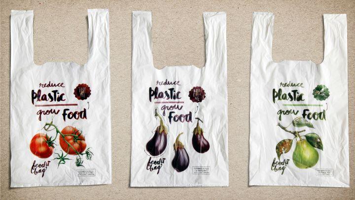 En lo más fffres.co: Bolsas biodegradables con semillas para ayudar a cuidar el medio ambiente: La lucha contra las bolsas de… #Creatividad