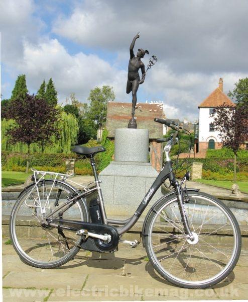 Gepida review photo copyright Electric Bike Magazine