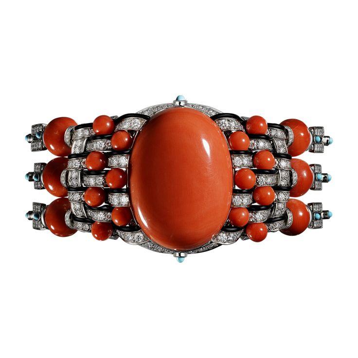 Cartier bracelet haute joaillerie bracelet corallin for Haute joaillerie cartier