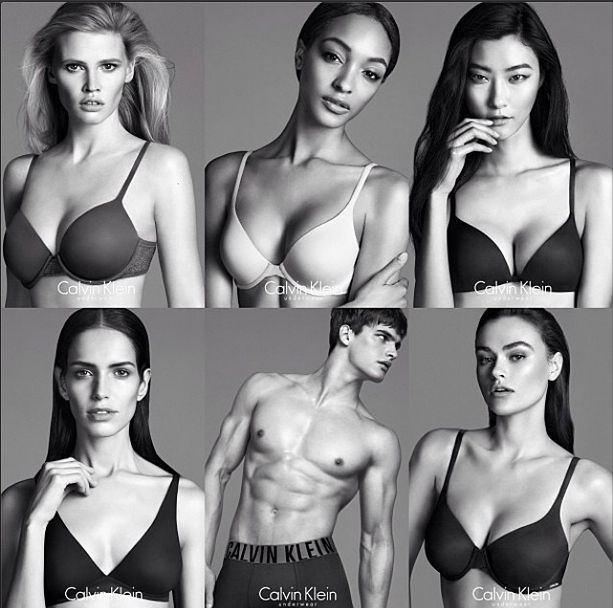 Calvin Klein's Infamous Size 10 Model Discusses Being An 'In-Betweenie' Size In The Industry