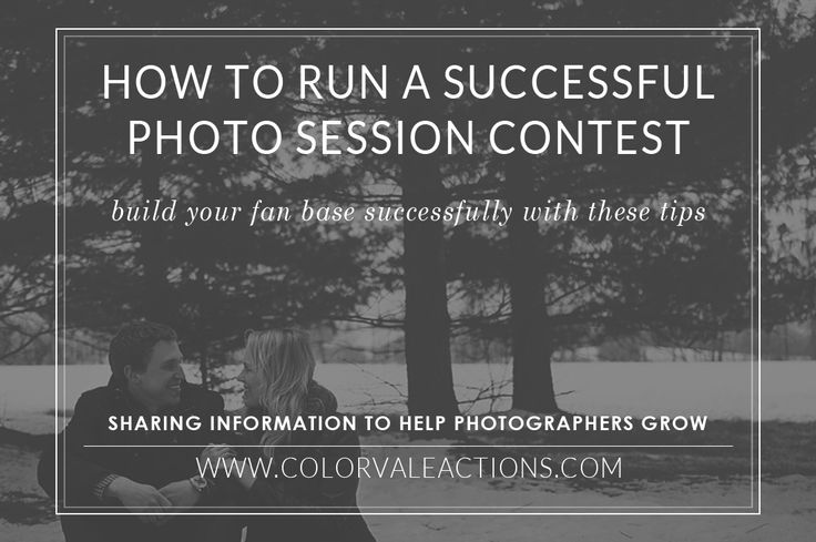 Photography Tips:  Running a contest properly is essential for getting optimal results.  These results should include an increase in fan base either by social media, newsletter subscribers or other connections of some sort.  How to do so is very simple with a few tools, preparation and organization. #photography #business #contests