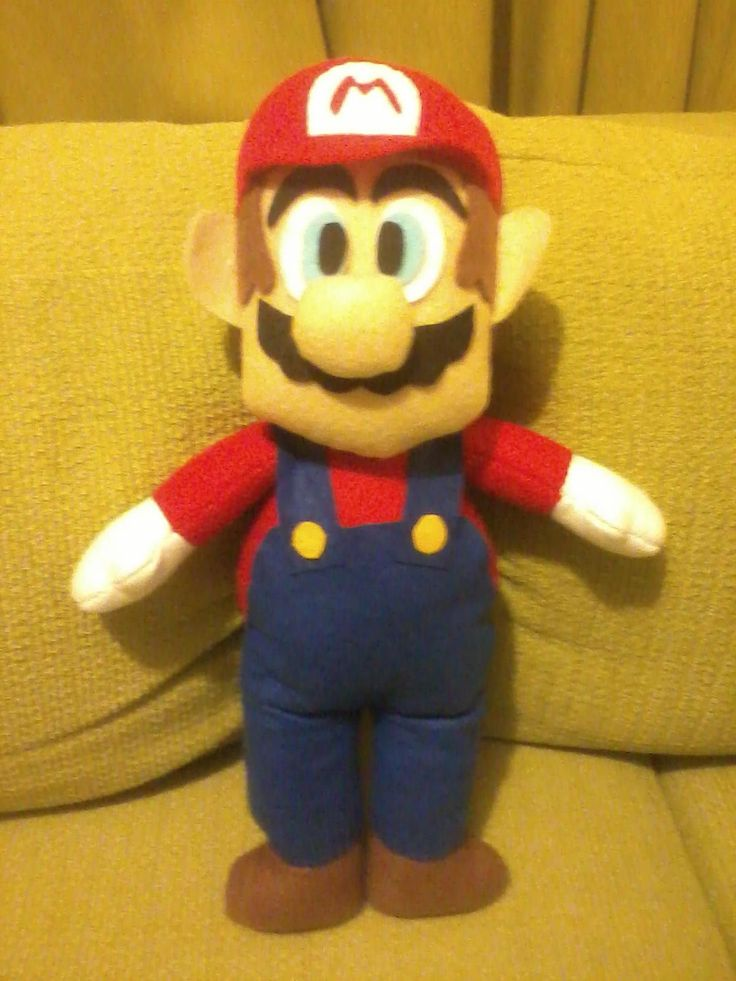 Super Mario Bros doll