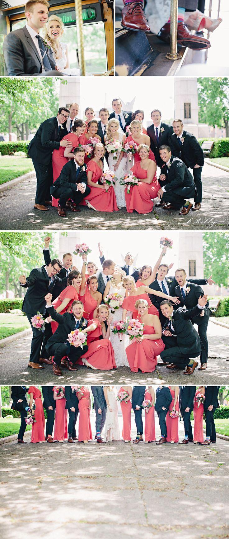 fun bridal party!  |  k.holly