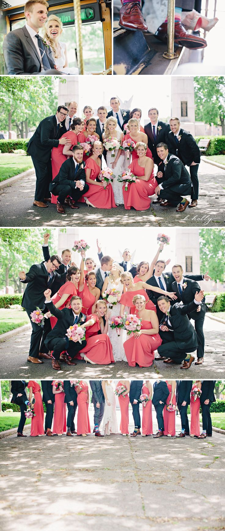 fun bridal party!  |  k.holly