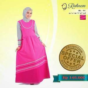 Dress Gamis Rahnem Limited Model RL-01