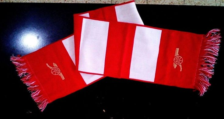 Arsenal Soccer Scarf 2008 - 18.1 Inch - Extremely rare #Arsenal