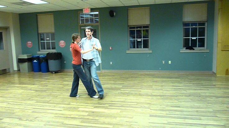 Texas 2-Step Beginner Class June 2012. 2-Step variations. #twostepping ★