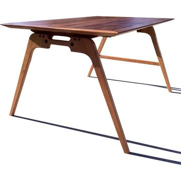 Scale Desk  by Joint Effort Studio: Writing Desks, Effort Studios, Scale Desks, Studios Writing, Fab Com, Writers Desks, Studios Furniture, Furniture Design, Wooden Tables Desks Legs