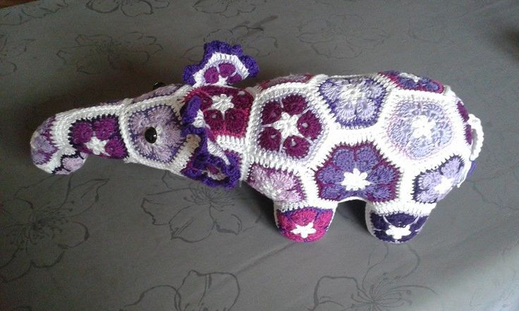 olifant  (patroon Heidi Bears)