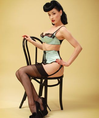 When I grow up, I want to be Dita von Teese.