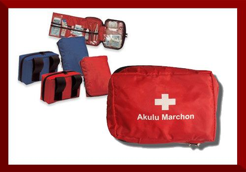 Vehicle first aid kit  Dimensions: 11cm x 17cm x 7cm  6 x Safety Pins 1 x Roller Bandage 75mm 10 x Cotton Buds 1 x Pair Examination Gloves 2 x Gauze Swabs 50mm x 50mm 1 x CPR Mouth Piece 5 x Plaster Strips 1 x Antiseptic Solution 50ml 1 x First Aid Dressing No. 3 1 x Mini Cotton Wool Roll 1 x Pair Scissors 1 x Forceps/Tweezers 1 x Paper Tape 25mm x 3m 1 x Triangular Bandage 2 x Alcohol Swabs 1 x Rescue Blanket 1 x Box Matches