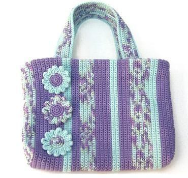 çiçekli Ebruli çanta örgü çanta Modelleri Örgü örgü çanta Modelleri Modelleri