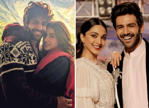 Video Kartik Aaryan Chooses His Patni And Woh Between Sara Ali Khan Kiara Advani Tara Sutaria And Nushrat Bharu Koffee With Karan Romantic Drama Sara Ali Khan
