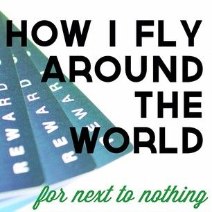 Fly Around The World (for next to nothing)