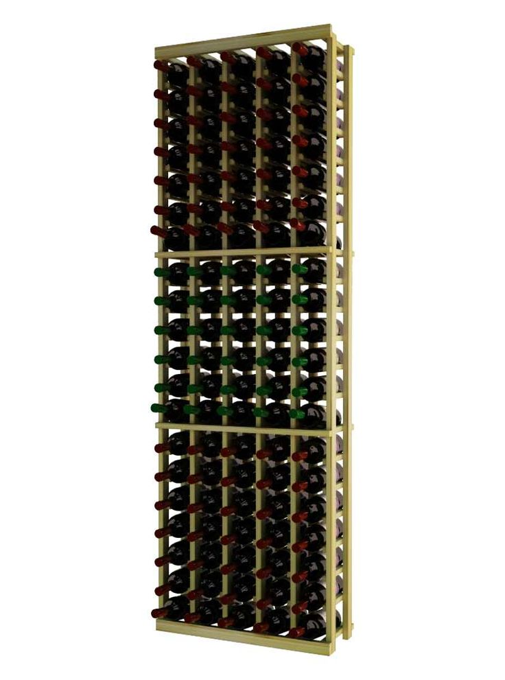 Wine Cellar Innovations Traditional Series 5 Column Individual Wine Rack