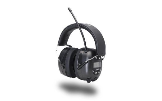 ION Audio Tough Sounds | Hearing Protection Headphones with Bluetooth and Radio