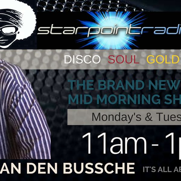 Feb 13th 11-1 Live DSG Show on Starpoint Radio. Tune in live every Monday & Tuesday 11-1 (UK Time).