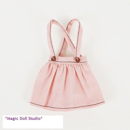[ mg075 ] trasporto libero neoblythe dress # cotone scuola gonna per neoblythe bambola di fabbricazione del vestito vestiti per le bambole(China (Mainland))