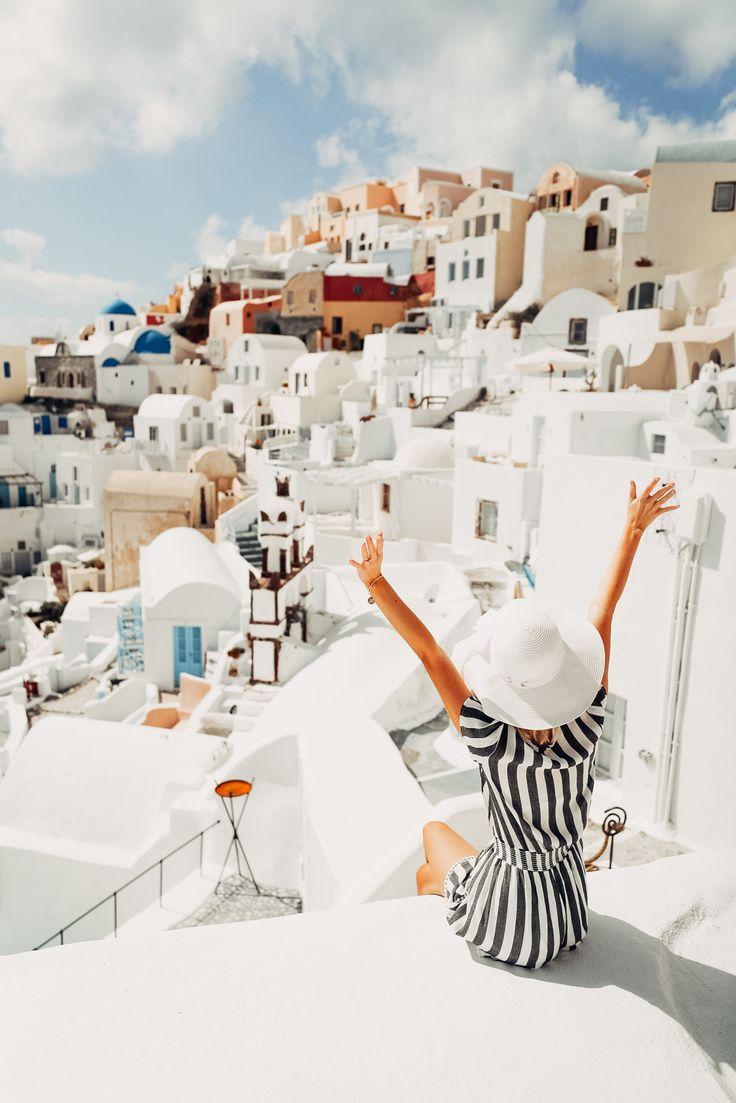 Weekend in Santorini - Aspyn Ovard
