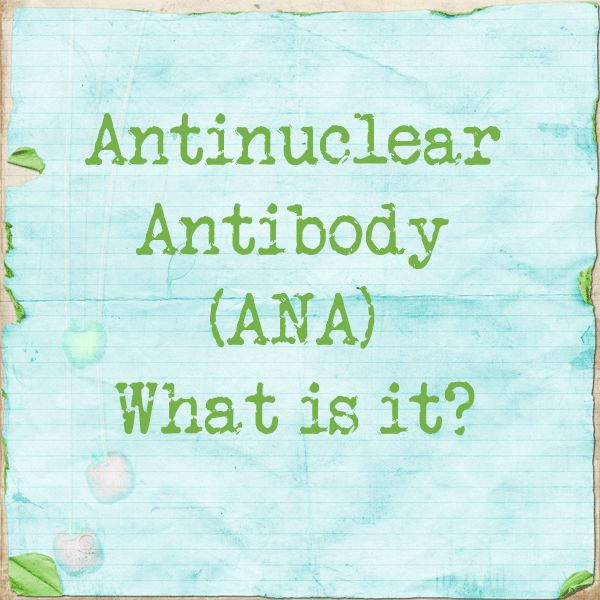 Anti-nuclear Antibody, What is it?