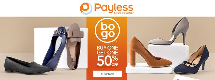 Online Only! BOGO Buy One Get One 50% #off.  Store : #PaylessShoes Scope: Entire Store  Ends On : 01/24/2017    Get more deals: http://www.geoqpons.com/Payless-Shoes-coupon-codes  Get our Android mobile App: https://play.google.com/store/apps/details?id=com.mm.views    Get our iOS mobile App: https://itunes.apple.com/us/app/geoqpons-local-coupons-discounts/id397729759?mt=8