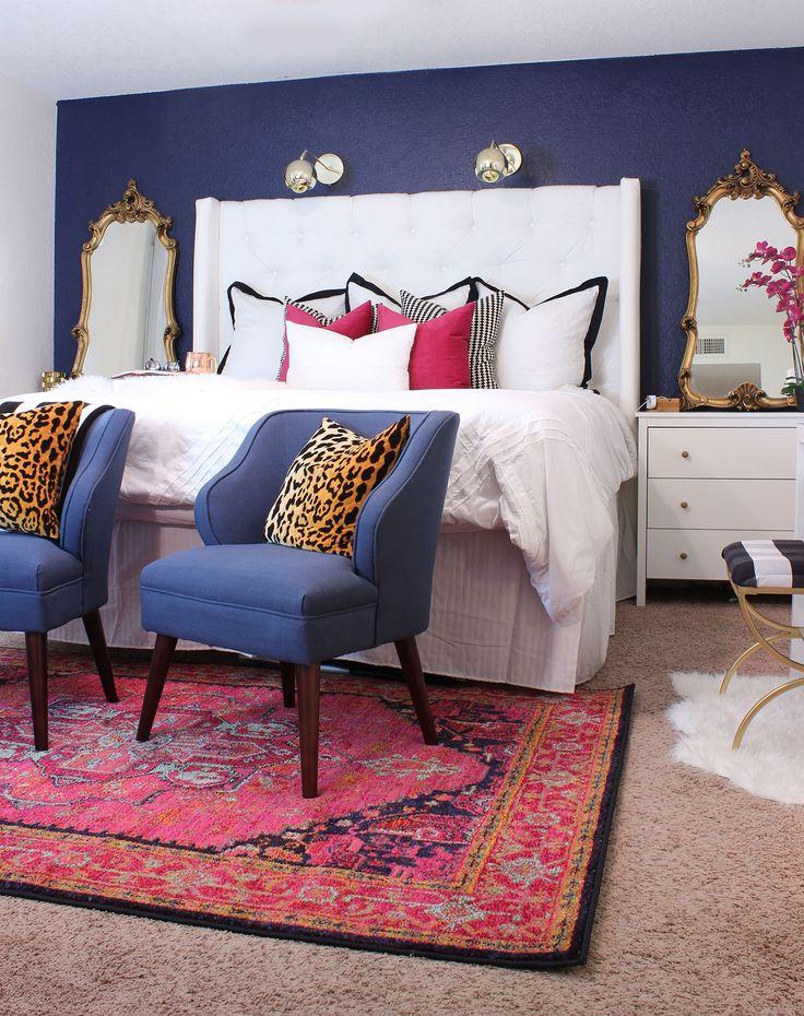 Elegant Master Bedroom Makeover - www.classyclutter.net