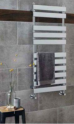 Hudson Reed Piazza Vertical Designer Heated Towel Rail Radiator