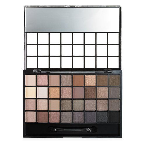 e.l.f. Eyeshadow 32 Piece Palette, Natural - Seriously the best dupe for Naked Palettes! cheeeap too.