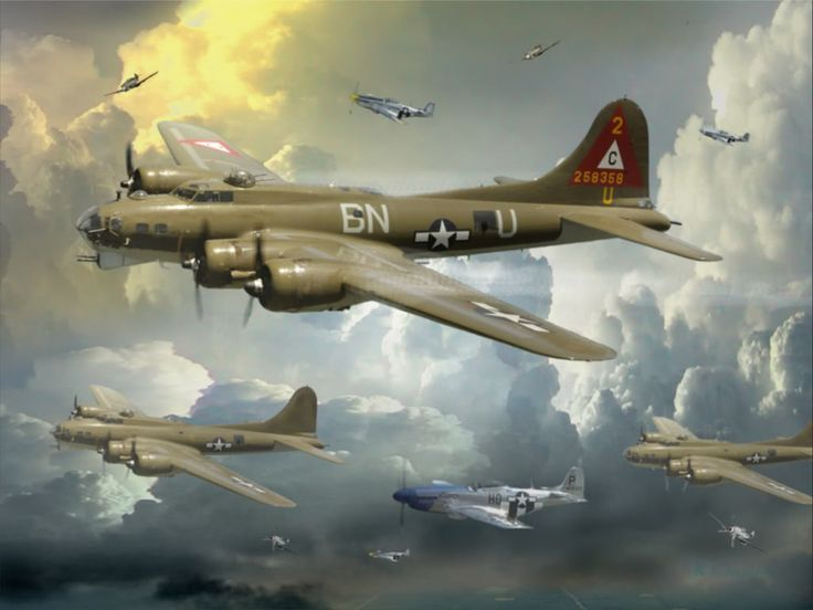 Image result for paintings b17 bomber