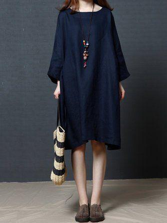 4b9020cedeec Shift Women Daytime Casual 3/4 Sleeve Casual Dress | Dress | Dresses ...