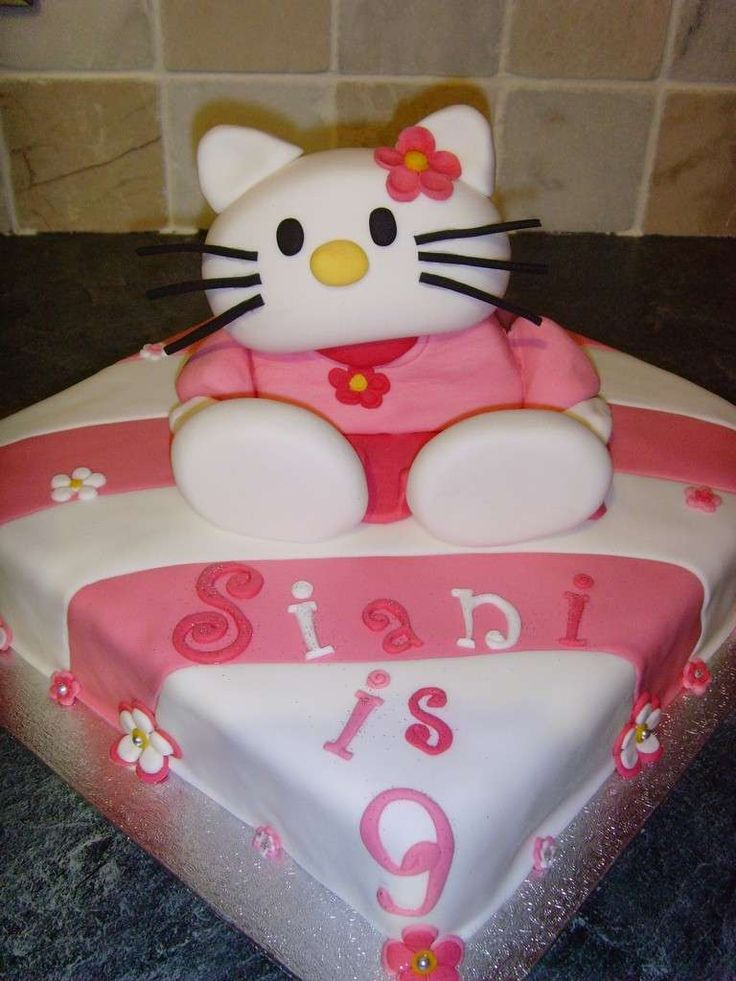 Idee torte di compleanno per bambini e adulti - Torta di compleanno Hello Kitty