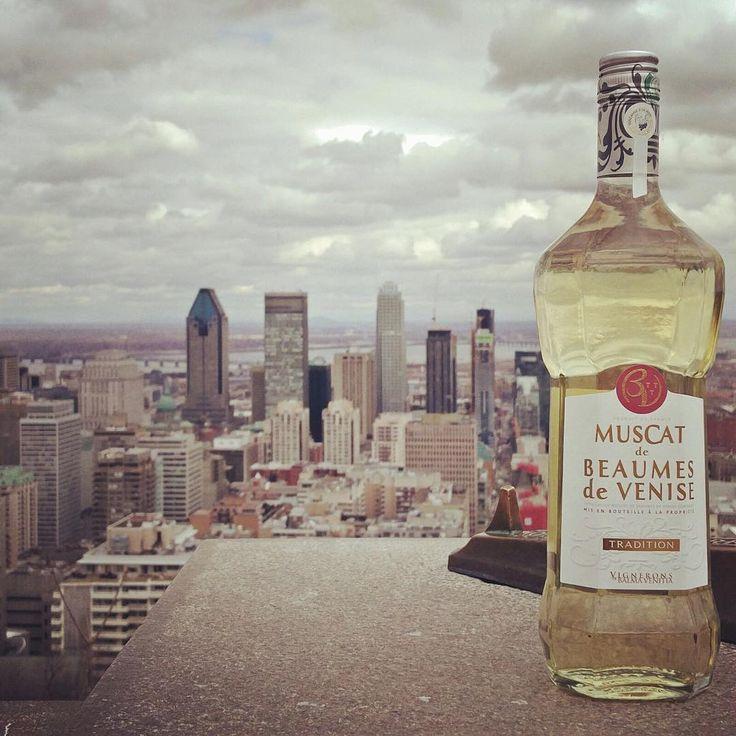 Un muscat haut en couleurs !   #beaumesdevenise #montreal #wine #muscat #Winelover