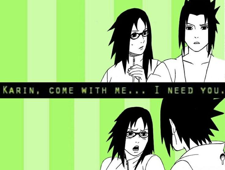 I Need You | Sasuke x Karin | SasuKarin | Ice & Spice | Blue / Black & Red / Purple | Naruto Shippuden anime couple | manga | OTP