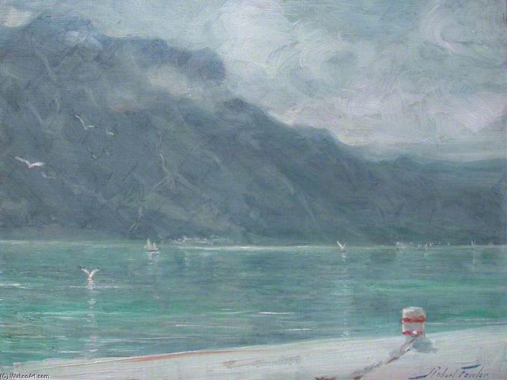 Scène de la Rive Du Quai de Robert Fowler (1853-1926, United Kingdom)