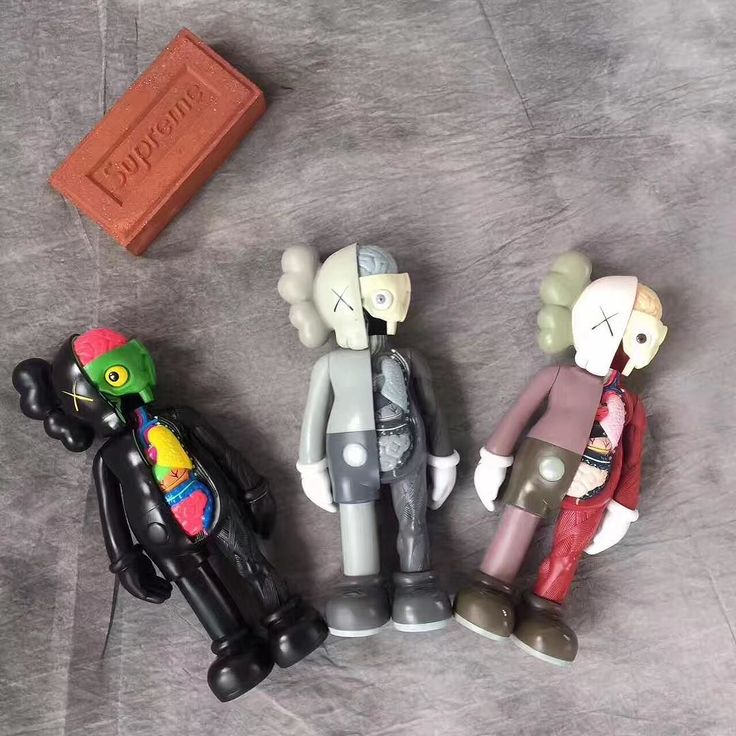 KAWS figurines available on the site!