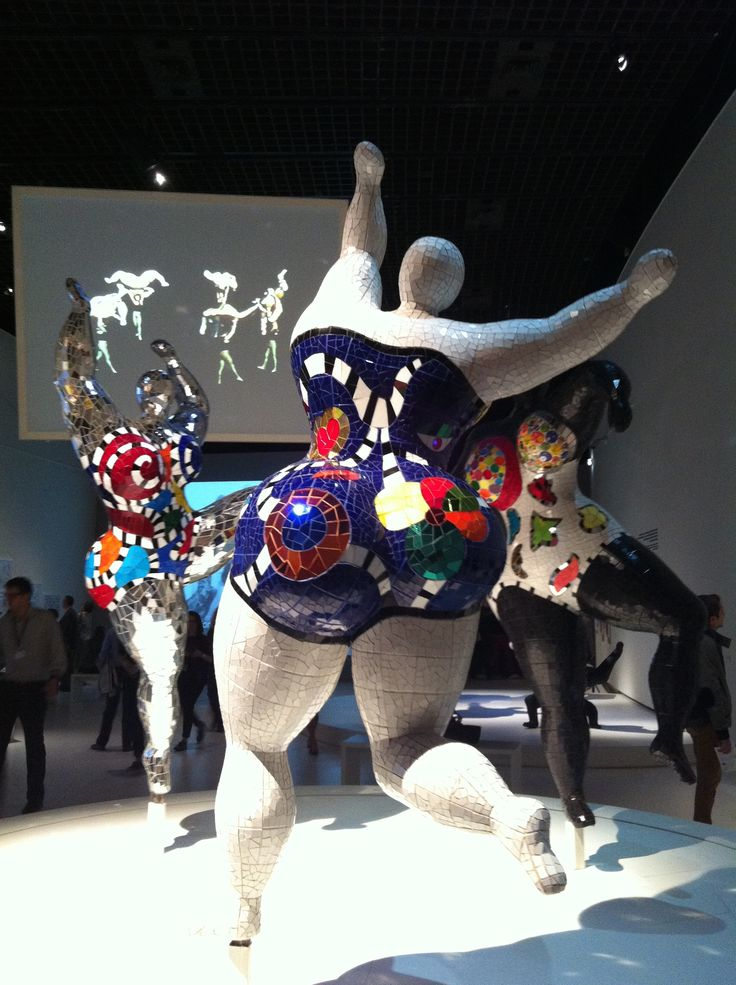 Niki de saint Phalle Paris 2014, exposition du grand Palais