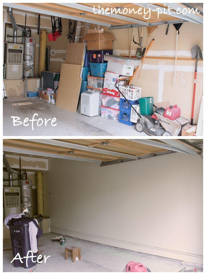 Best garage drywall ideas on pinterest unfinished