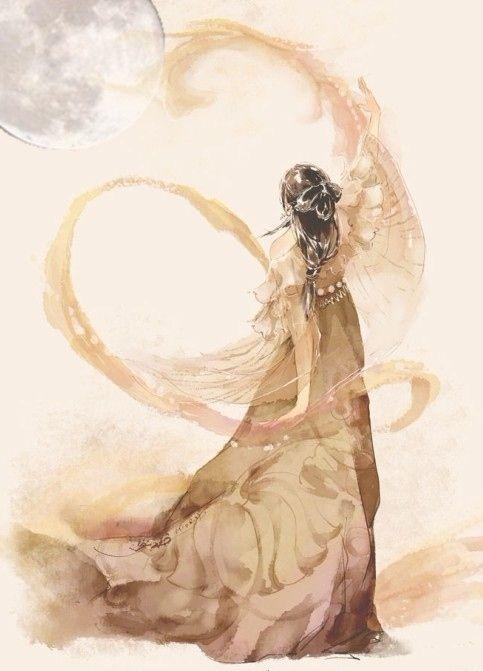 Chinese Goddess of the Moon, Chang E: