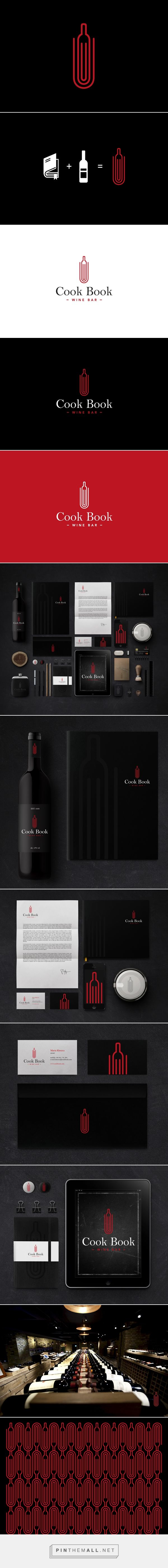 Cook Book Wine Bar on #Behance by Sebastian Bednarek curated by Packaging Diva PD eat, drink and read all in one place created via https://www.behance.net/gallery/15912405/Cook-Book-Wine-Bar