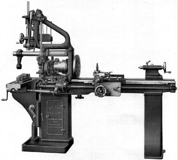 Dalton History & Combination Machine