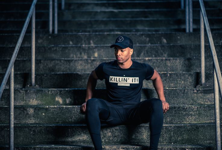 Fitted Killin' It T-Shirt by Nasty Lifestyle.  Get yours today!  CrossFit Apparel, Gym Apparel, Fitness Apparel, Mens Lifestyle,