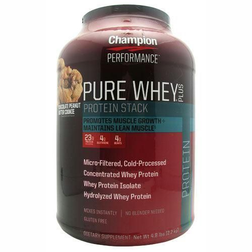 Champion Nutrition Pure Whey Plus Chocolate Peanut Butter Cookie - Gluten Free