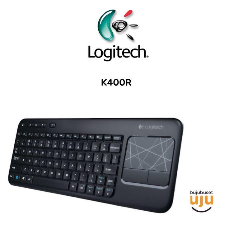 Logitech Wireless Keyboard K400R IDR 485.000