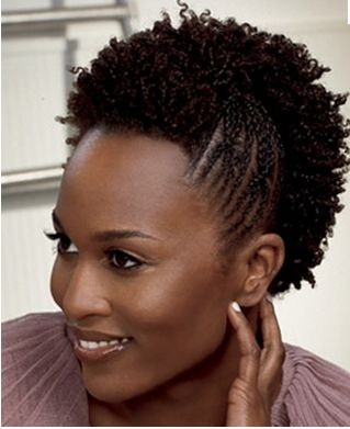 Short Mohawk Hairstyle - short natural hairstyles