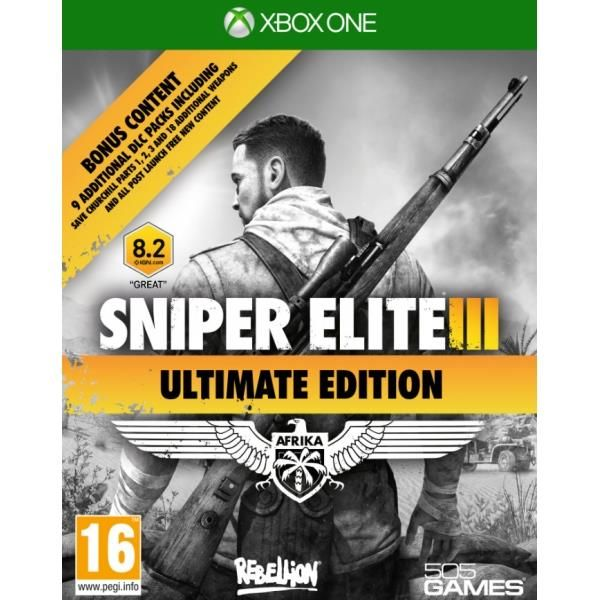Sniper Elite III Ultimate Edition Xbox One Game | http://gamesactions.com shares #new #latest #videogames #games for #pc #psp #ps3 #wii #xbox #nintendo #3ds