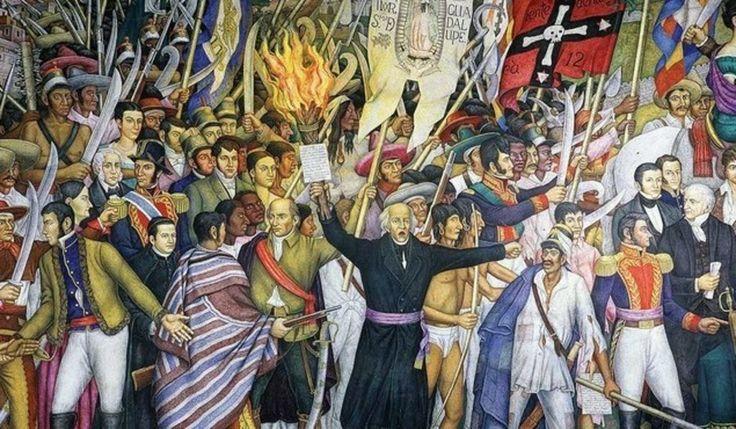 1810: El cura Hidalgo da el