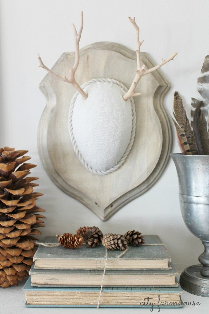 17 best images about diy projects on pinterest how to for Fake deer antlers for crafts