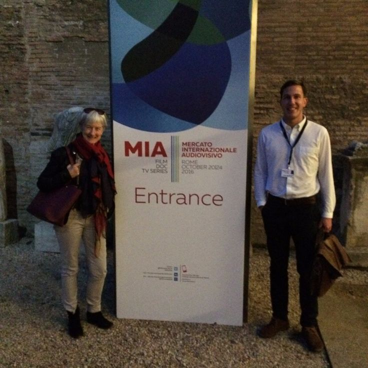 Oct 24 2016 ‏@CrossDayFilms - Sam & @PippaCross13 at @MIAmarket_Rome this week for new project #TheLongWayRound!