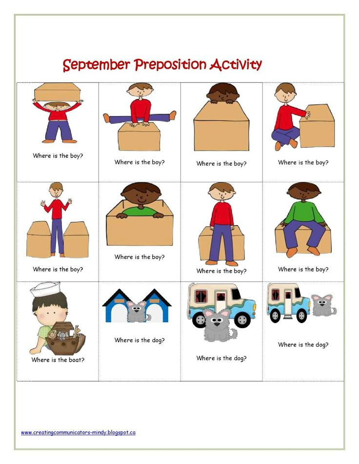 Worksheets Spatial Concepts Worksheets 17 best images about prepositions and spatial concepts on speachy feedback linky party